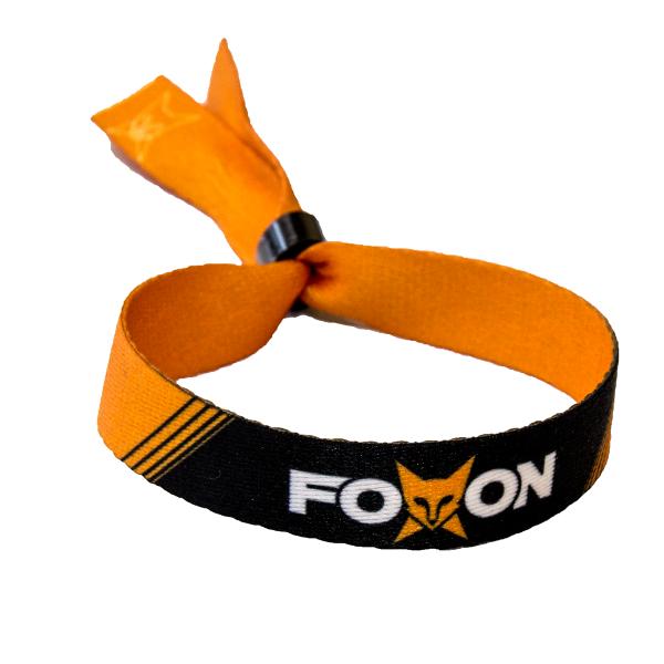 Foxon - Stoffband - Schriftzug