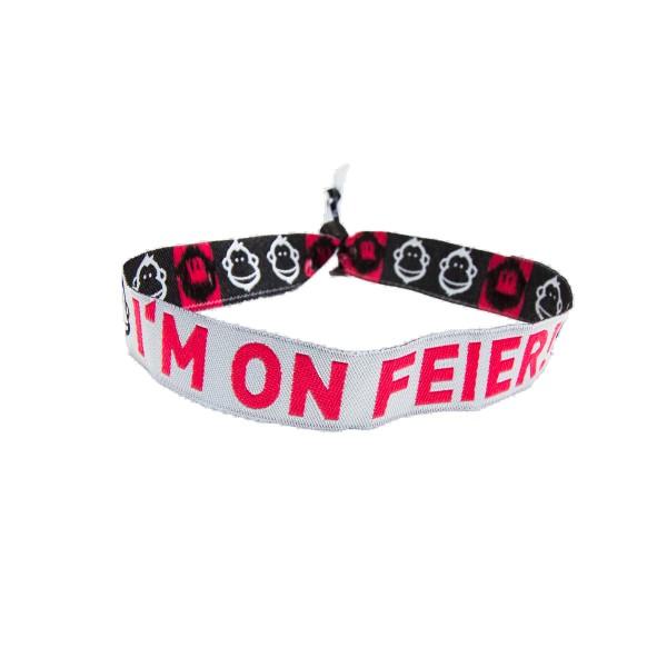 Feierstoff - Stoffband - I'M ON FEIER!