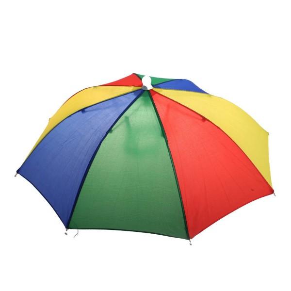 Kopf- Regen- Sonnenschirm