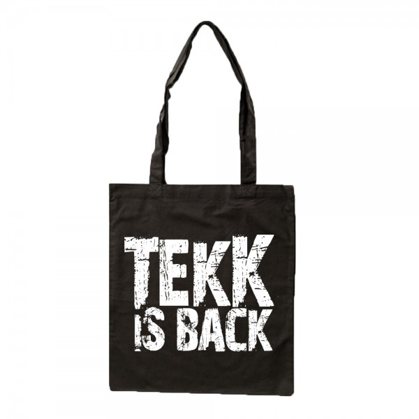 TEKK IS BACK - Stoffbeutel - Logo