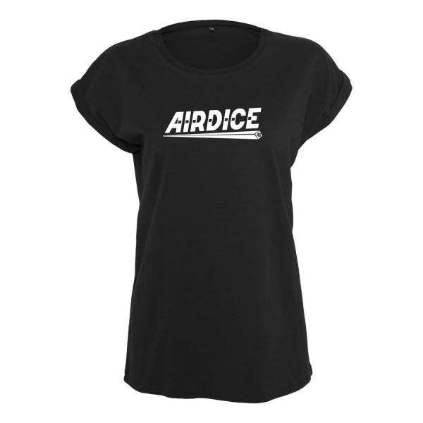 Airdice - Ladies Shirt - Schriftzug