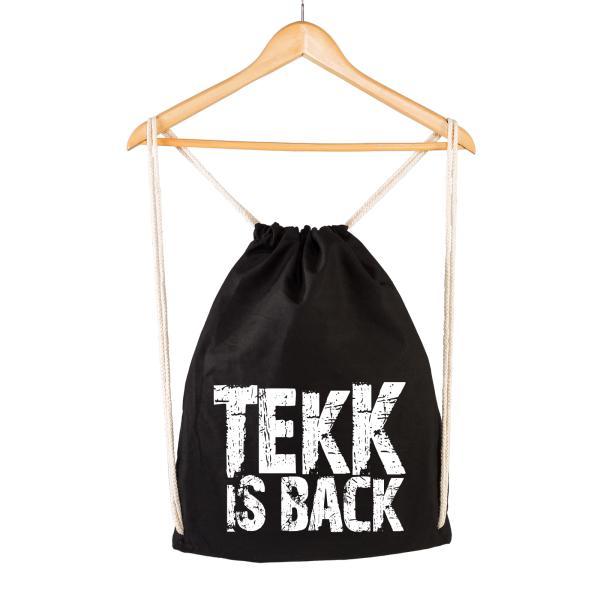 TEKK IS BACK - Gymsac - Logo