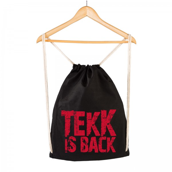 TEKK IS BACK - Gymsac - Logo