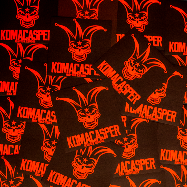 Komacasper - Sticker Pack - Neon