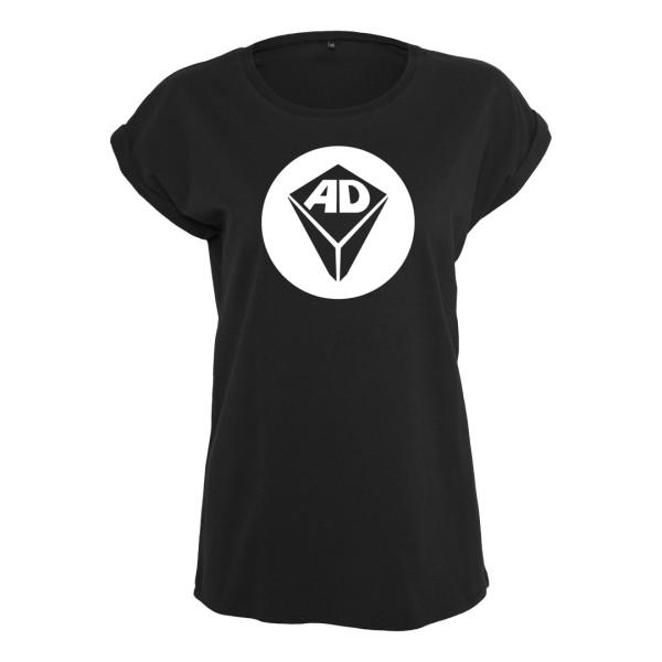 Airdice - T-Shirt (Female) - Logo Kreis