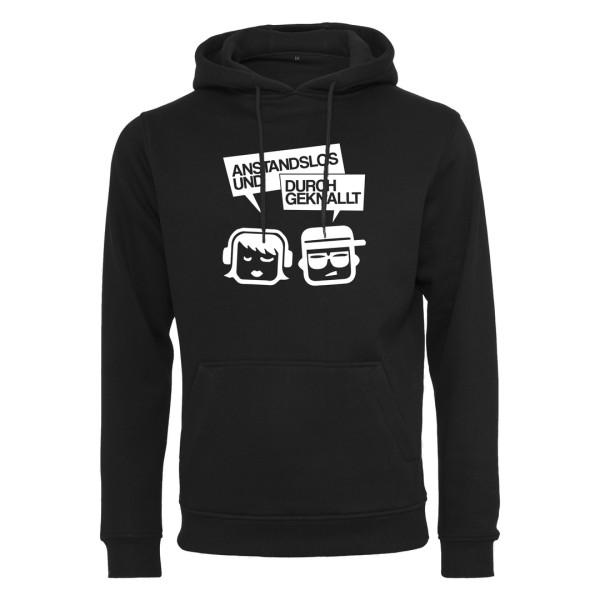 Anstandslos & Durchgeknallt - Premium Hoodie - Logo