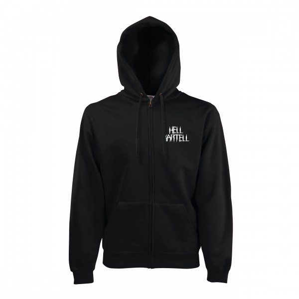 HELL Kartell - Zip Hoodie - Logo