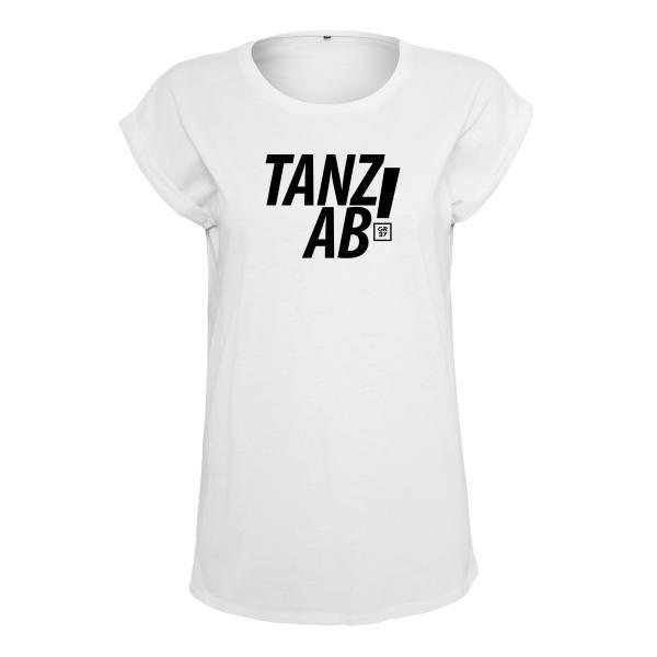 Compact Grey - T-Shirt (Female) Weiß - Tanz ab!