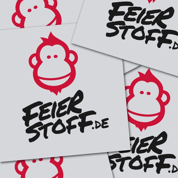 Sticker Pack - Feierstoff.de
