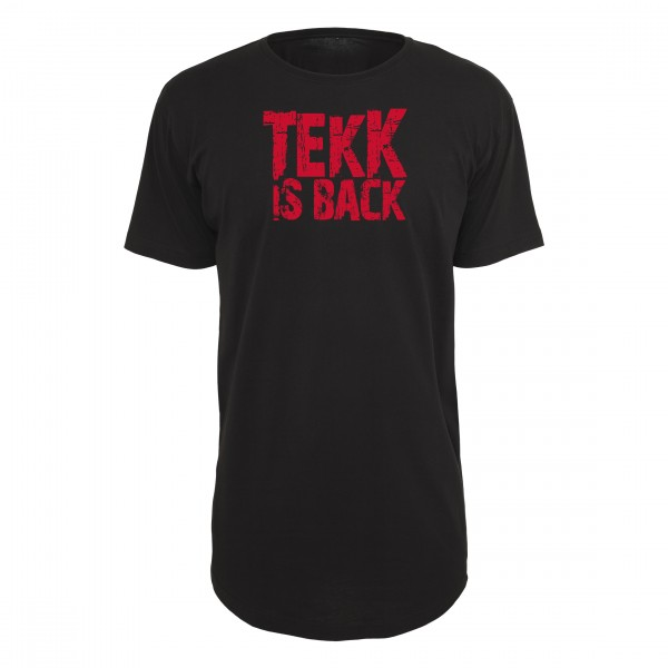 TEKK IS BACK - Long Tee - Logo