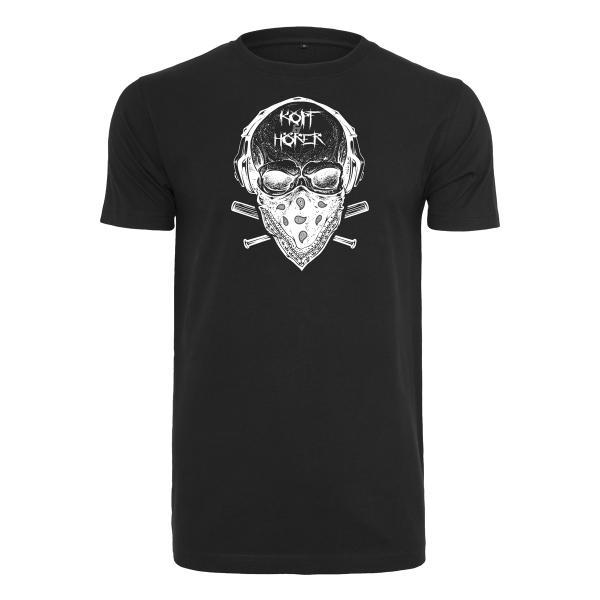 Kopf & Hörer - T-Shirt Klassik - Skull