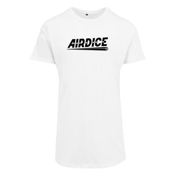 Airdice - Long Tee - Schriftzug