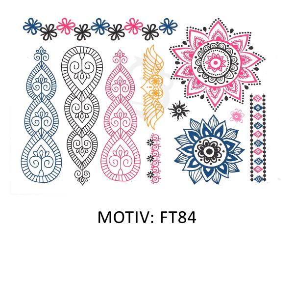 FESTIVAL TATTOO - METALLIC TATTOO - FT84