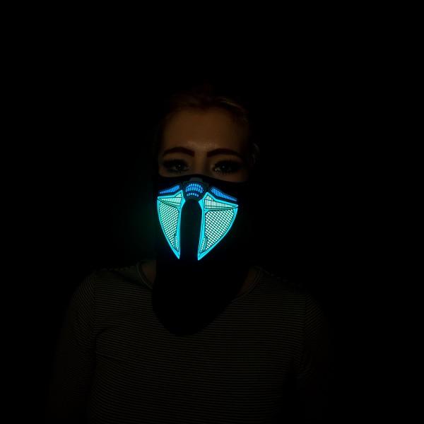 LED Leuchtmaske