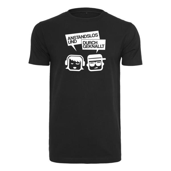 Anstandslos & Durchgeknallt - T-Shirt Klassik - Logo