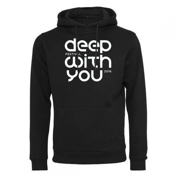 deep with you festival - Light Hoodie - Logo