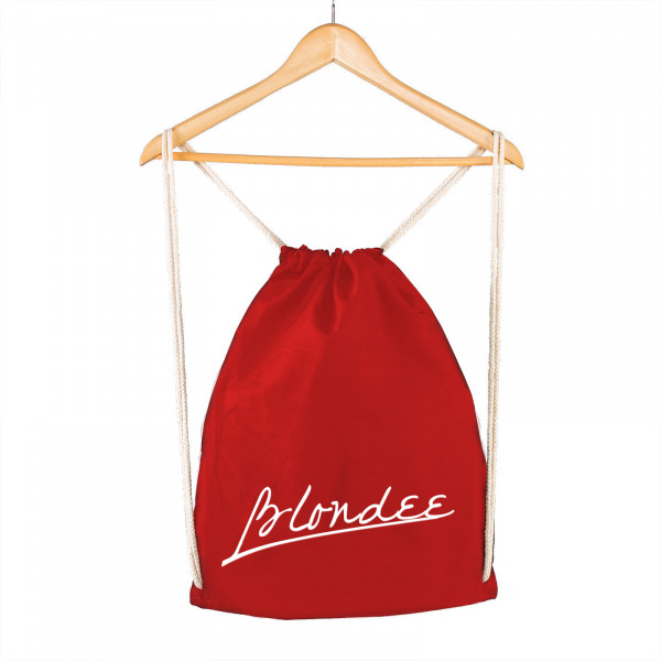 Blondee - Gymsac Rot - Logo