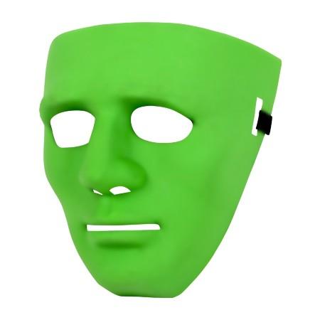 Partymaske - Halloween Grün