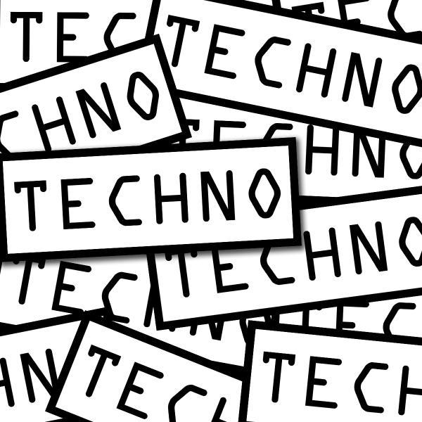 Techno - Sticker Pack