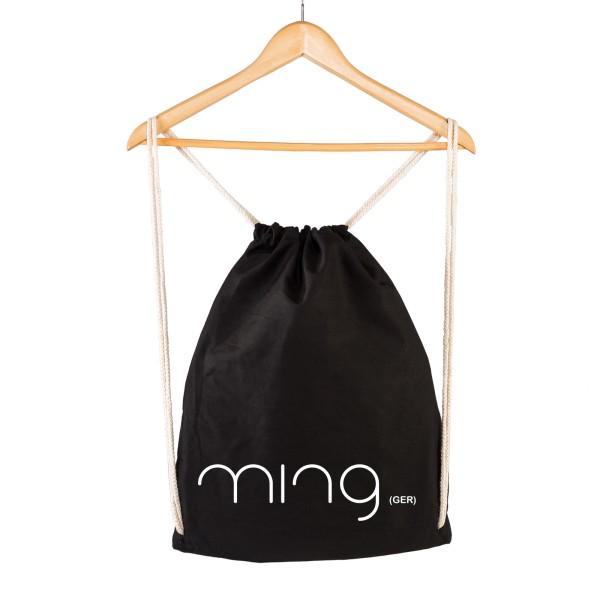 Ming (Ger) - Gymsac Schwarz - Logo