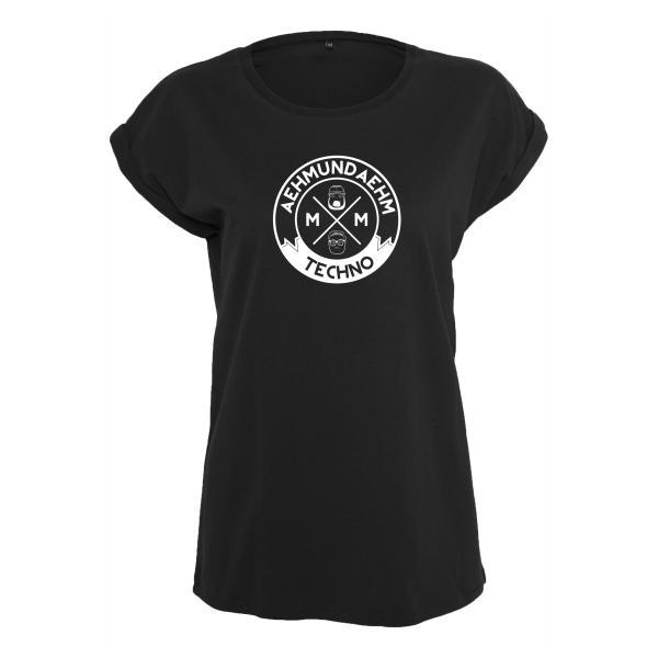 Aehm & Aehm - T-Shirt (Female) - Schwarz - Logo