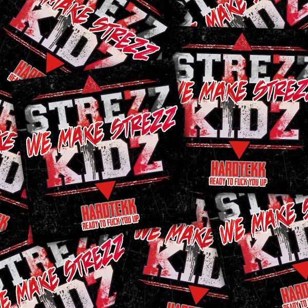 Strezzkidz - Sticker Pack - Destroyed