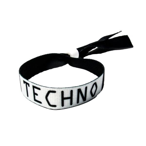 Techno - Stoffband