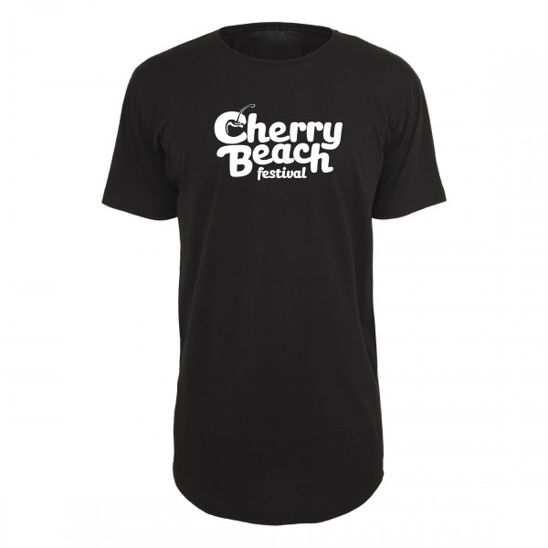 Cherry Beach - Long Tee Schwarz