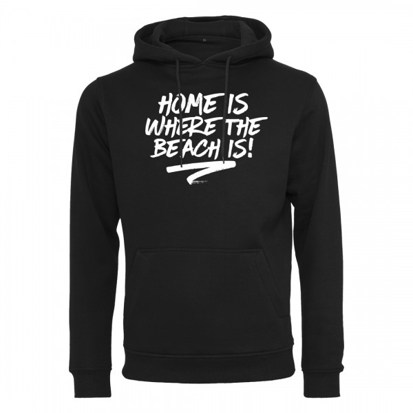 HOME IS WHERE THE BEACH IS! - Premium Hoodie