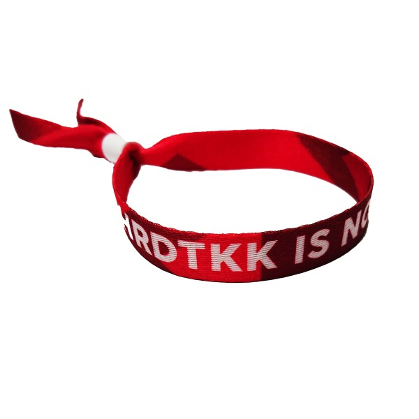 HRDTKK - Stoffband - HRDTKK IS NOT A CRIME