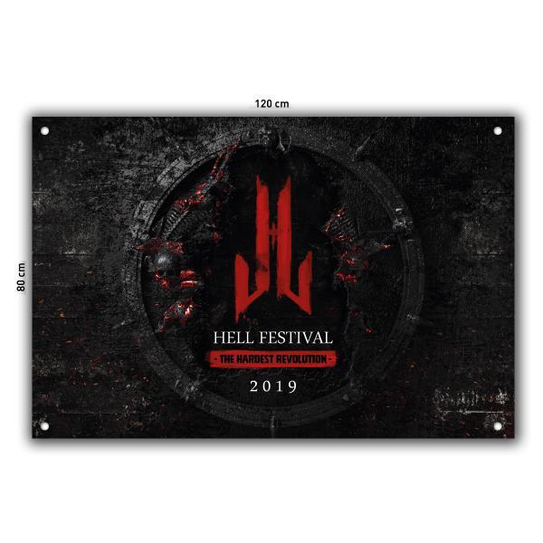 Hell Festival - Fahne - 2019