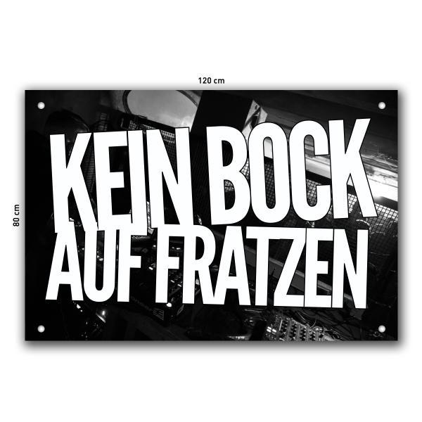 Kein Bock Auf Fratzen - Fahne
