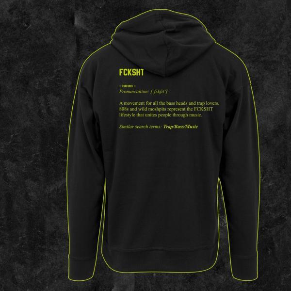 FCKSHT - Oversize Hoodie - Definition Edition