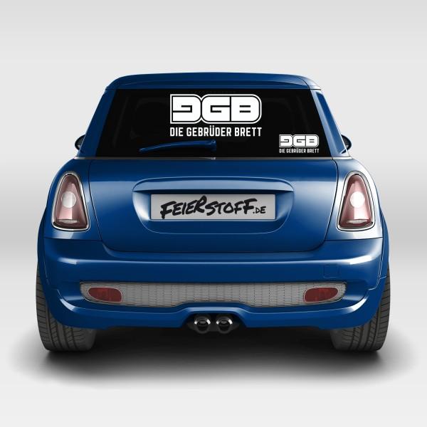 Die Gebrüder Brett - Autoaufkleber - Logo