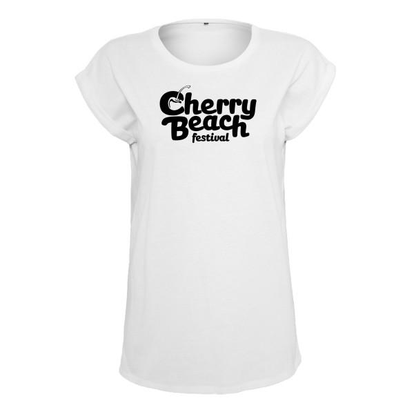 Cherry Beach - T-Shirt (Female) Weiß