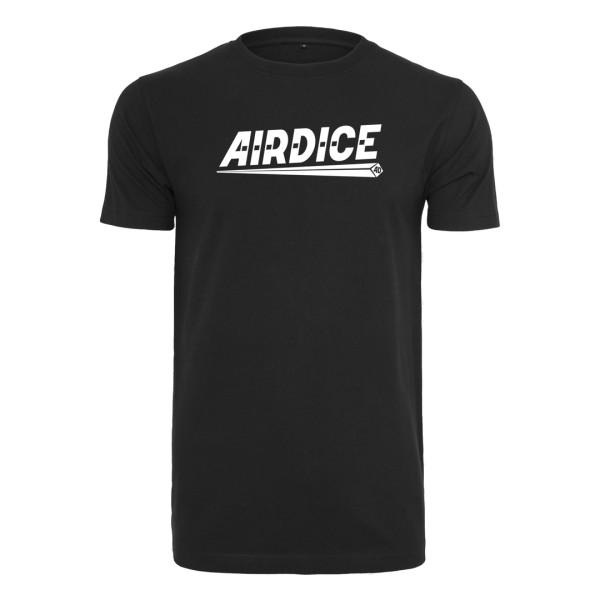 Airdice - T-Shirt Klassik - Schriftzug