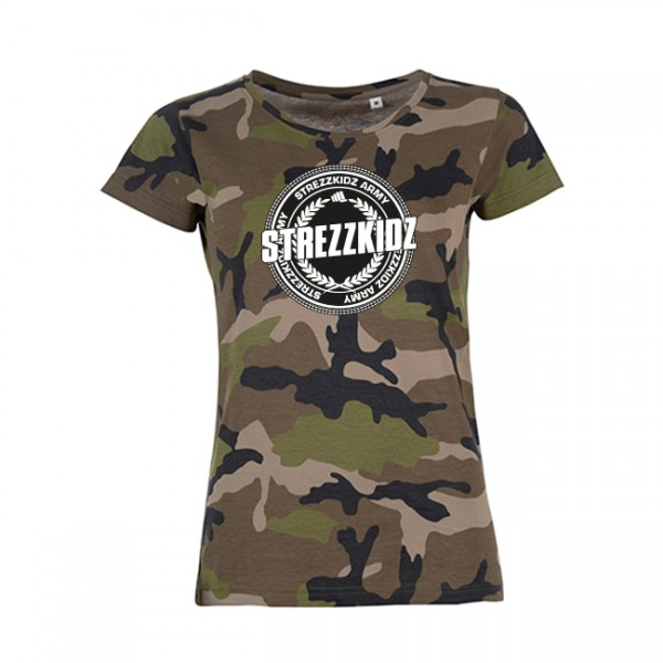 Strezzkidz - Ladies Shirt - Strezzkidz Army
