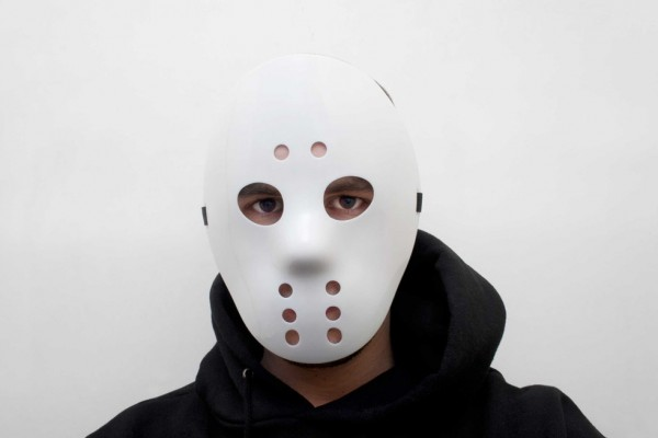 Partymaske - Jason Hockey