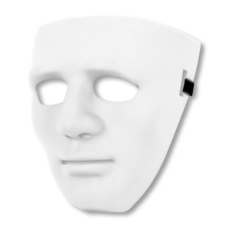 Partymaske - Halloween - Weiß