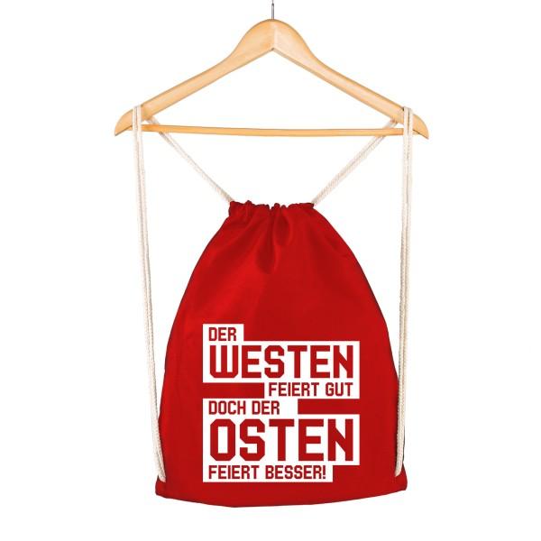 Der Osten feiert besser - Gymsac Rot