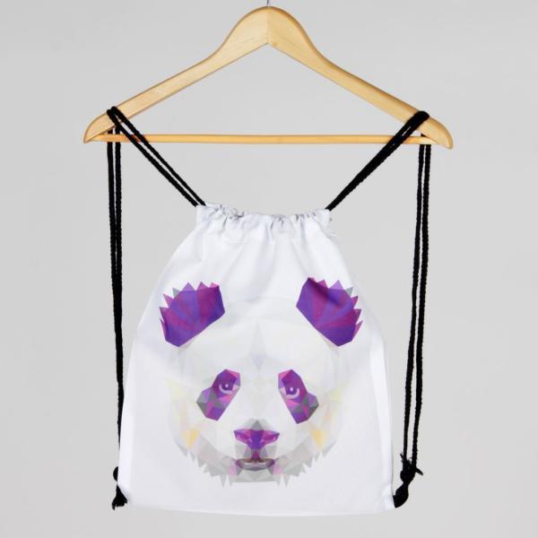 Turnbeutel - Gymsac - Panda