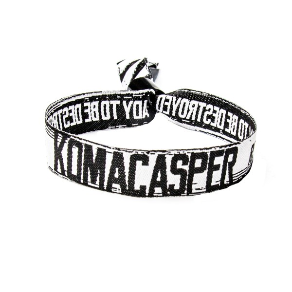 Komacasper - Stoffband - Ready to Destroy