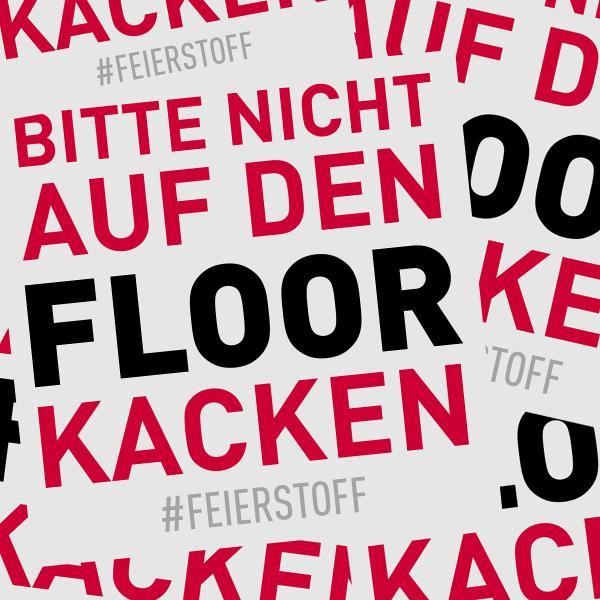 Sticker Pack - Bitte nicht auf den Floor kacken!