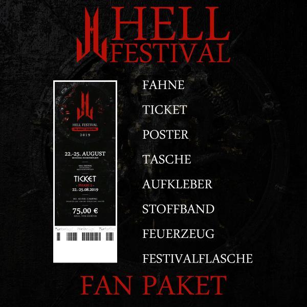 Hell Festival - Fanpaket - 2019