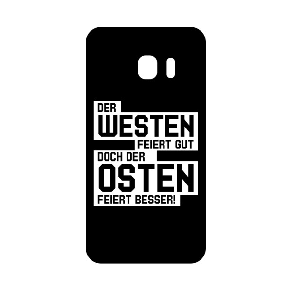 Der Osten feiert besser - Handyhülle - Logo