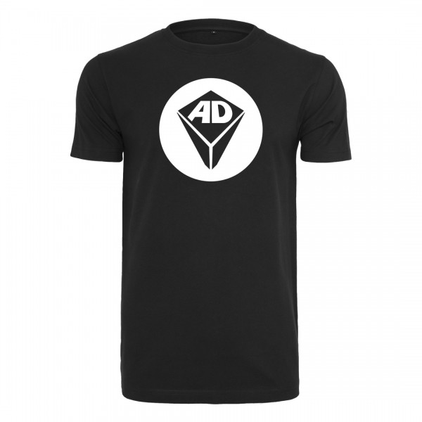 Airdice - T-Shirt Klassik - Logo Kreis