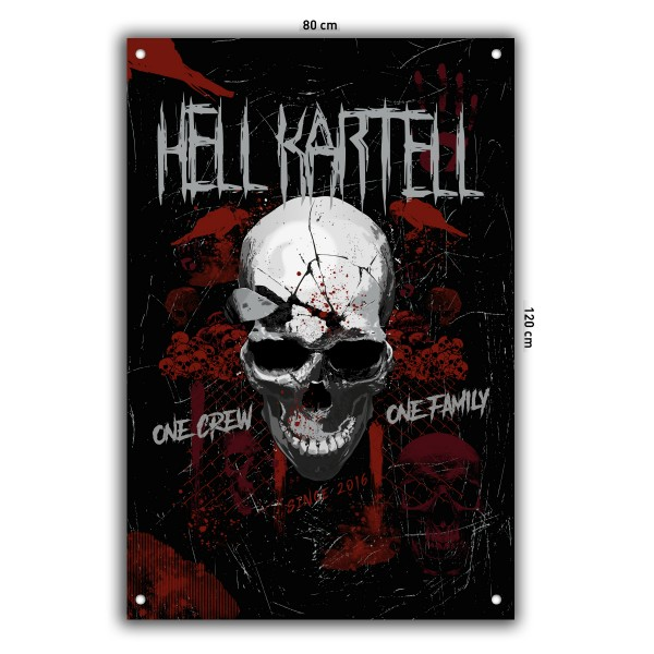 Hell Kartell - Fahne