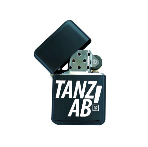 Compact Grey - Benzinfeuerzeug - Tanz ab!