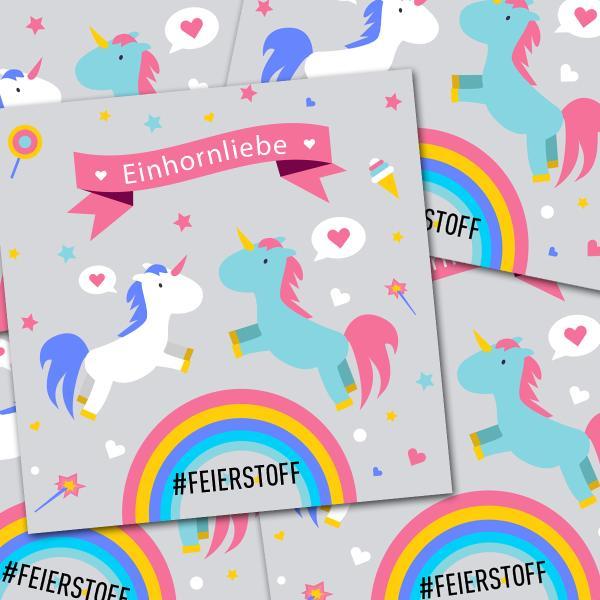 Sticker Pack - Einhornliebe