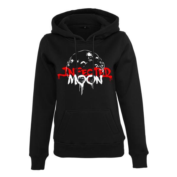 Infected Moon - Ladies Hoodie - Logo
